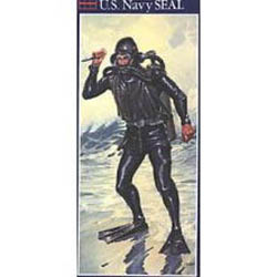 Glencoe Models US NAVY SEAL 1:8              , LIST PRICE $14.98