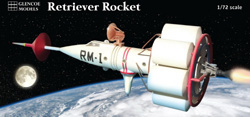 Glencoe Models Retriever Rocket 1:72, LIST PRICE $14.99