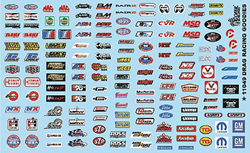 Gofer Racing Model Decals Drag Racing Goodies Decal, LIST PRICE $9.99