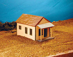 Guts, Gravel & Glory HO Shotgun house, LIST PRICE $15.84
