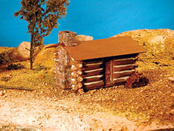 Guts, Gravel & Glory HO Cromwell's cabin, LIST PRICE $14.52