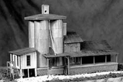 Guts, Gravel & Glory HO Welch's dairy & feed mill, LIST PRICE $59.4