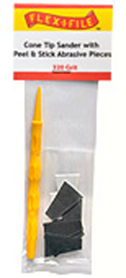Flex-I-File Cone Sander 150grit & Handle, LIST PRICE $8