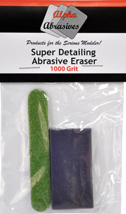 Flex-I-File Abrasive Eraser 1000grit, LIST PRICE $6.99