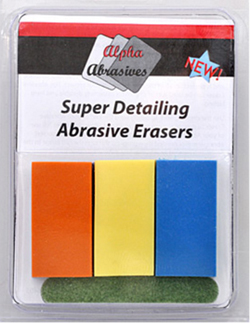 Flex-I-File Abrasive Eraser Set, LIST PRICE $29.99