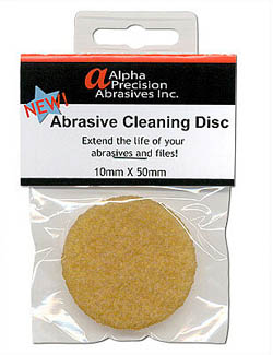 Flex-I-File ABRASIVE CLEANING DISK , LIST PRICE $6