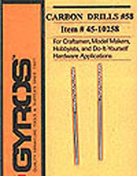 Gyros Products Co. Carbon Drill #58       2/, LIST PRICE $3.6