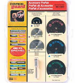 Gyros Products Co. 7 Pc Accessory ProPak, LIST PRICE $35.98