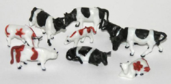 Herpa HO Assorted Cattle 50Pk, LIST PRICE $29.95