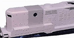 Hi Tech Details HO GP9 B Unit cnvrsn UP/PRR, LIST PRICE $6.95