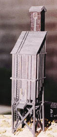 JV Models HO Coaling tower (40 ton), LIST PRICE $42.98