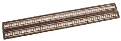 JV Models HO 51' Ladder  Dark Brown /2, LIST PRICE $8.98