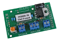 Innovative Train Tech A HQ Sound Module Nature Series Owl Forest, LIST PRICE $34.95