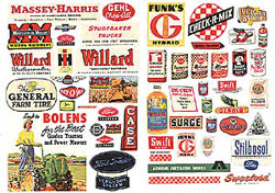 JL Innovative HO Farm implement posters, LIST PRICE $3.99