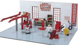 JL Innovative Gas Station Detail Set 16, LIST PRICE $21.95