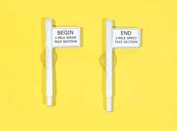 JL Innovative Begin/End 3 Mi. Sign 2/, LIST PRICE $4.98