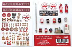 "JL Innovative HO Flying ""A"" Gas Detail Set , LIST PRICE $27.98"