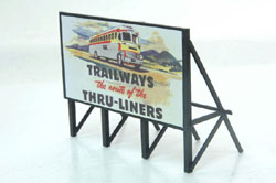 JL Innovative Ho Bus Sign 1950S, LIST PRICE $12.95