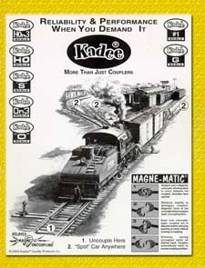 Kadee Kadee Catalog, LIST PRICE $4.95