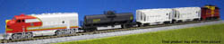 Kato N ATSF F7 Freight Train Set, LIST PRICE $160