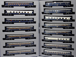 Kato N Kato-Lemke 1988 Paris-Hong Kong Orient Express 15 Car Set, LIST PRICE $510
