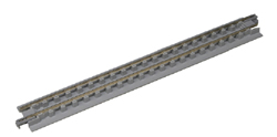 "Kato N 186mm 7-5/19"" Open Pit Track (4), LIST PRICE $18"