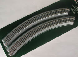 Kato N R282-45D CURVED TRACK-4, LIST PRICE $10