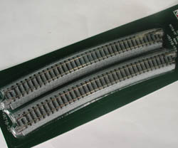 Kato N R718-15D CURVED TRACK-4, LIST PRICE $9