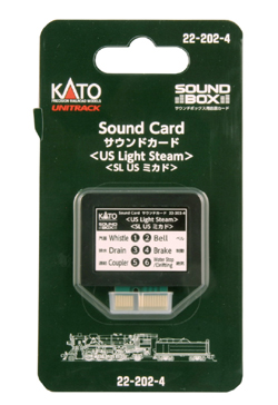 Kato US Light Steam Sound Card, LIST PRICE $29.99