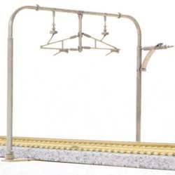 Kato N Catenary Poles, Double Track/Arched (10), LIST PRICE $16