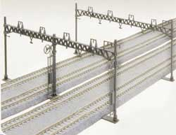 Kato N Catenary Poles, Four Track (10), LIST PRICE $20