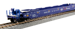 Kato HO Gunderson MAXI-IV Well Car Pacer Stacktrain #6066, DUE 9/30/2019, LIST PRICE $110