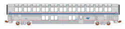 Kato HO Amtrak Phase Ivb Lounge #33019, LIST PRICE $85