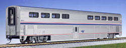 Kato HO Amtrak Superliner Diner Phase VI #38021, LIST PRICE $87