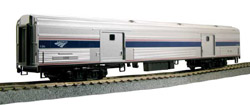 Kato HO Baggage Amtrak PH VI #1249 w/Int Lighting, DUE 4/30/2020, LIST PRICE $115