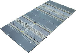 Kato N V52 Unitram Double wide straight track expansion, LIST PRICE $120
