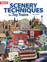 Kalmbach Scenery Techniques for Toy Trains, LIST PRICE $17.95