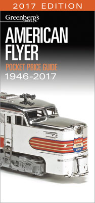 Kalmbach Am. Flyer Pocket Guide 1946-2017, LIST PRICE $15.99
