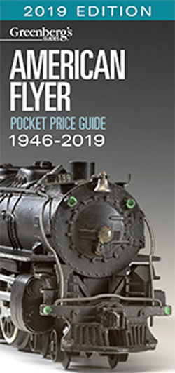 Kalmbach Am. Flyer Pocket Guide 1946-2019, DUE 8/30/2018, LIST PRICE $15.99