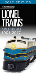 Kalmbach A Lionel Trains Pocket Price Guide 1901-2017, LIST PRICE $21.99