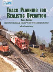Kalmbach 3RD EDITION TRACK PLANNING REALISTIC, LIST PRICE $21.95