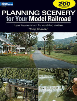 Kalmbach PLANNING SCENERY for Your MRR, LIST PRICE $21.95
