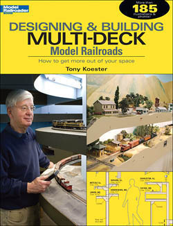 Kalmbach Designing & Bldg Multi-Deck ModelRR, LIST PRICE $19.95