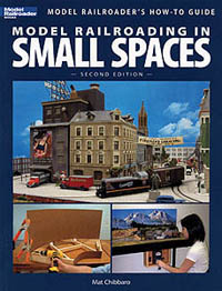 Kalmbach RAILROADING in Sm SPACES 2nd , LIST PRICE $21.95