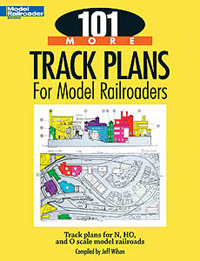 Kalmbach 101 More Track Plans for Model Railroaders, LIST PRICE $17.95