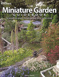 Kalmbach MINIATURE GARDEN GUIDEBOOK , LIST PRICE $21.95