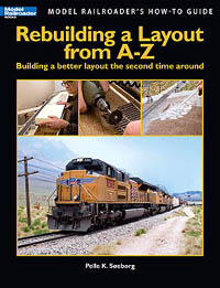 Kalmbach Rebuilding a layout from A-Z, LIST PRICE $21.95