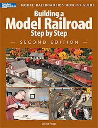 Kalmbach Building a Model Railroad Step by Step,2nd Edition, LIST PRICE $21.95