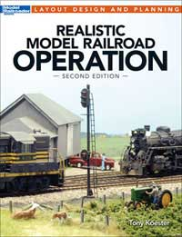 Kalmbach Realistic Model Rr Operation, LIST PRICE $19.99