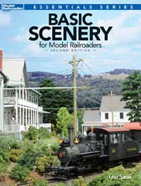 Kalmbach Basic Scenery for Model Railroaders, 2nd Edition, LIST PRICE $19.99